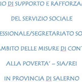 Avviso di selezione per servizi sociali professionali in provincia di Salerno