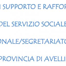 Avviso di selezione per servizi sociali professionali