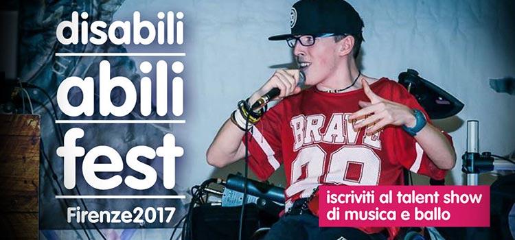 A Firenze la seconda edizione del Disabili Abili Fest per abbattere le barriere
